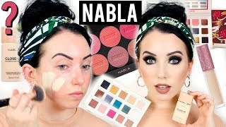 IS IT ANY GOOD?? Nabla Cosmetics First Impressions | NEW BRAND @ ULTA!