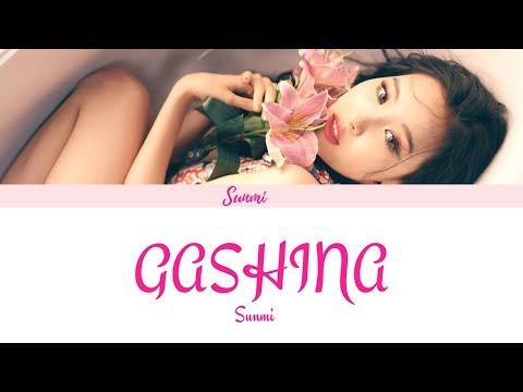 SUNMI (선미) -  Gashina (가시나) (Color Coded Lyrics/Eng/Han/Rom)