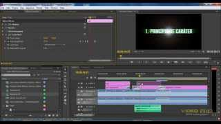 Tutorial Premiere CS6 - Texto FX