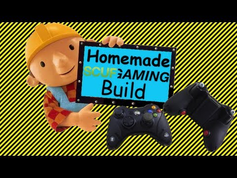 Homemade Scuf Build 4 of 4. How to Build a Scuf Controller XBOX 360 (PS3. Wii U. XBOX One. PS4)