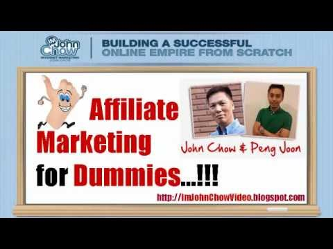 Affiliate Marketing For Dummies IM John Chow Review is a new internet marketing course for dummies
