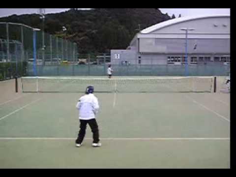 テニスオフ2008シングルス VSじーのB