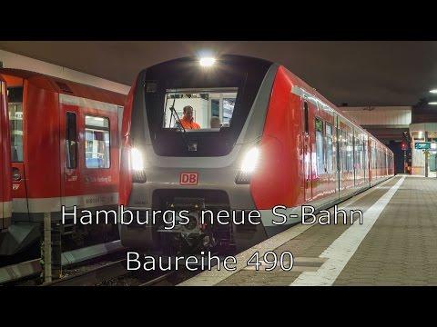 Baureihe 490 - Hamburgs neue S-Bahn | Testfahrten
