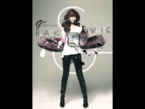 G.na Black And White Lyrics video