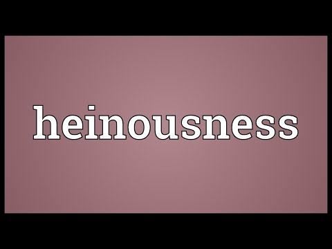 Header of heinousness
