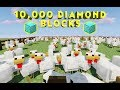 Guess The Number Of Chickens, Win Full Inventory Of Diamond Blocks | Minecraft