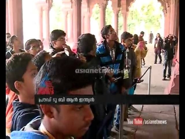 Asianet News proud to be an Indian team visit Red Fort