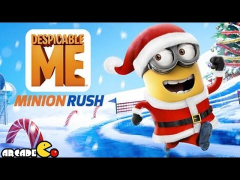 Despicable Me 2: Minion Rush - Santa Minion Recover The Holiday Gifts video