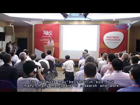 PM Lee at GlaxoSmithKline (GSK) 40th anniversary - 01Nov2012