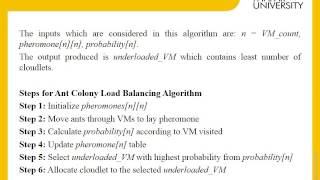 Optimized Algorithms for VM Load Balancing in Cloud Computing