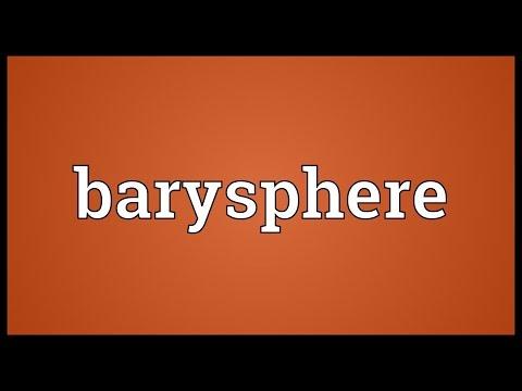 Header of barysphere