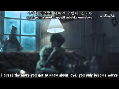 Tablo Ft. Jinsil - Bad MV [English subs + Romanization + Hangul] HD