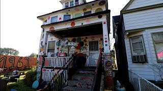 #801 DETROIT'S Wackiest Street - The HEIDELBERG PROJECT - Daily Travel Vlog (10/16/18)