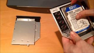 Dell Inspiron 15r SE 7520 - Install Second Hard Drive