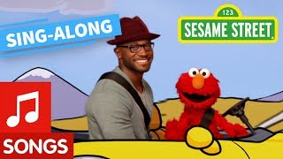 Sesame Street: Let's Go Driving with Elmo and Taye Diggs with Lyrics | Elmo's Sing Along Series