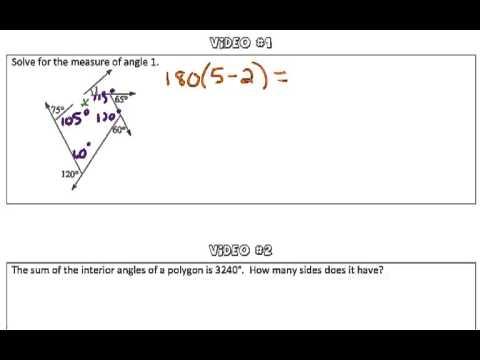 Interior Angle Sum Conjecture