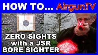 HOW TO zero a scope with the JSR Laser Bore Sighter