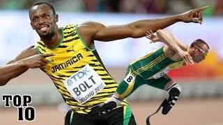 Top 10 Fastest People Of All Time