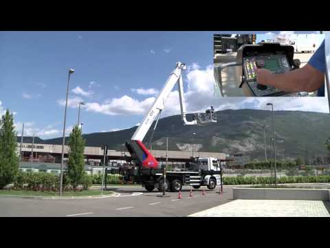 High Range truck-mounted platform B-LIFT 430