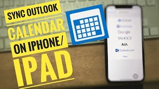 How to Sync Outlook Calendar With iPhone XS max/XR/iPhone X/8/7/6/6 Plus/ iPhone SE iOS 12 late:2019