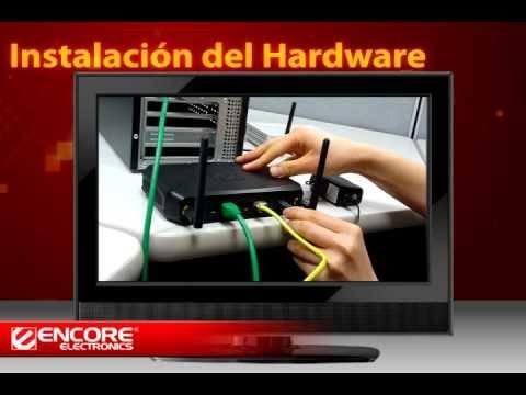 Cómo Instalar el Router Inalámbrico N de Encore (Español)