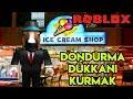 🍦 Kendi Dondurma Dükkanımızı Kuruyoruz 🍦   Ice Cream Shop Tycoon   Roblox Türkçe
