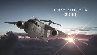 Embraer - KC-390 Military Transport Aircraft Simulation [720p]