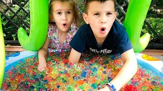Kids play with ORBEEZ My super fun day with toys JoyJoy  Lika