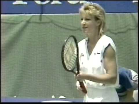 Chris Evert d. Martina Navratilova-1988 Australian Open SF