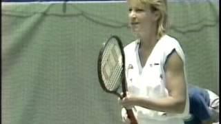 Chris Evert d. Martina Navratilova-1988 Australian Open SF