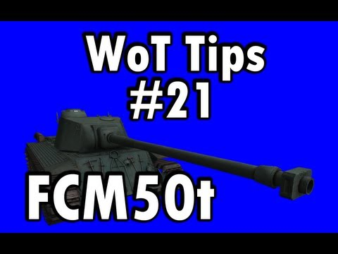 WoT Tips #21 - FCM50t(hybrid tank) - Is the rarity justified?