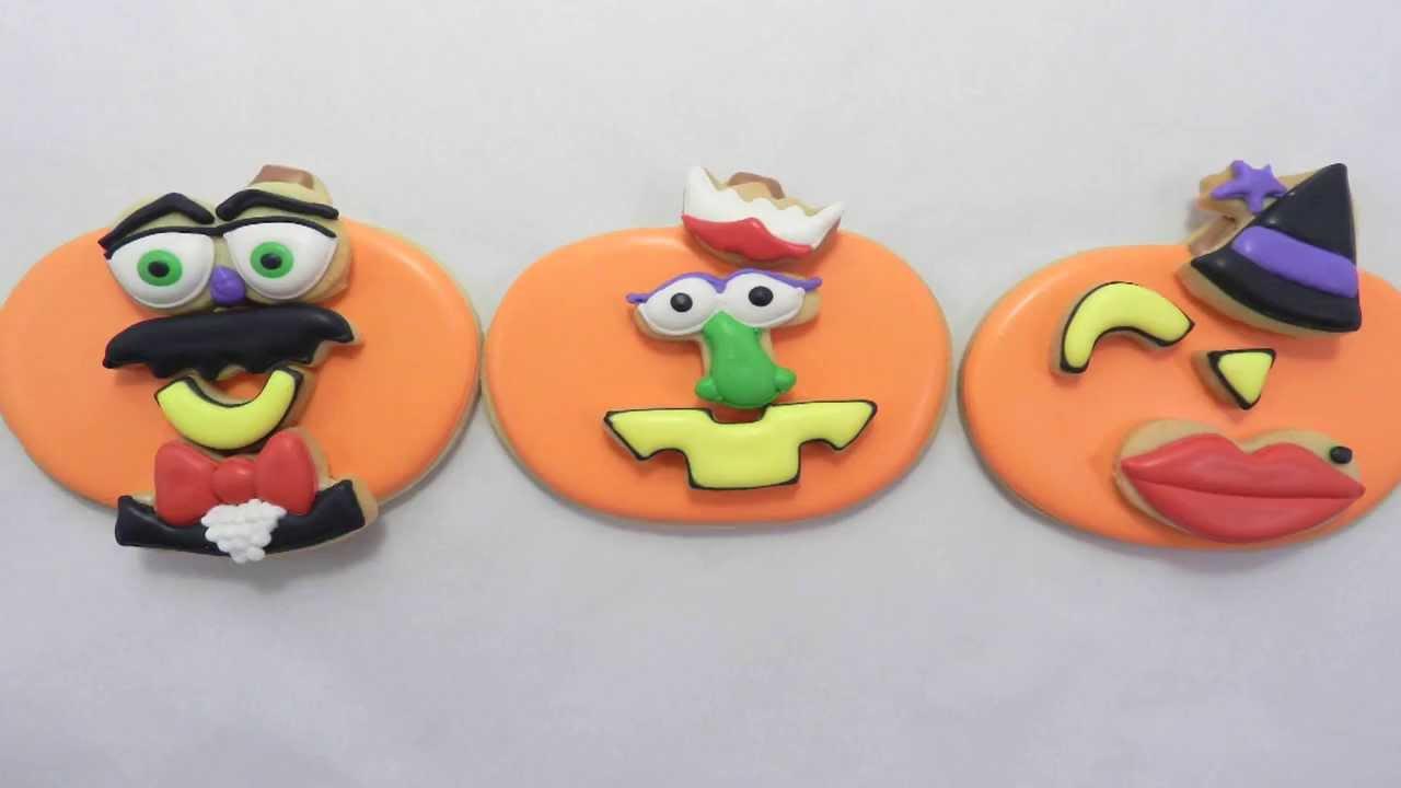 Pumpkin Head Anime mr Pumpkin Head Cookie