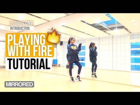 [Mirrored] BLACKPINK - 불장난 (PLAYING WITH FIRE) | Dance Tutorial (Intro to Chorus)