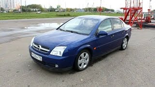 2002 Opel Vectra C. Start Up, Engine, and In Depth Tour.