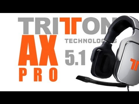 Headset Test: Tritton AX pro