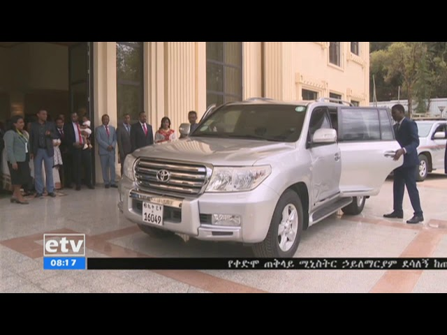Former PM Hailemariam Leaves Palace