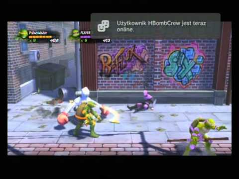 Teenage Mutant Ninja Turtles: Turtles in Time Re-Shelled Co-op Playthrough - Part 1/3
