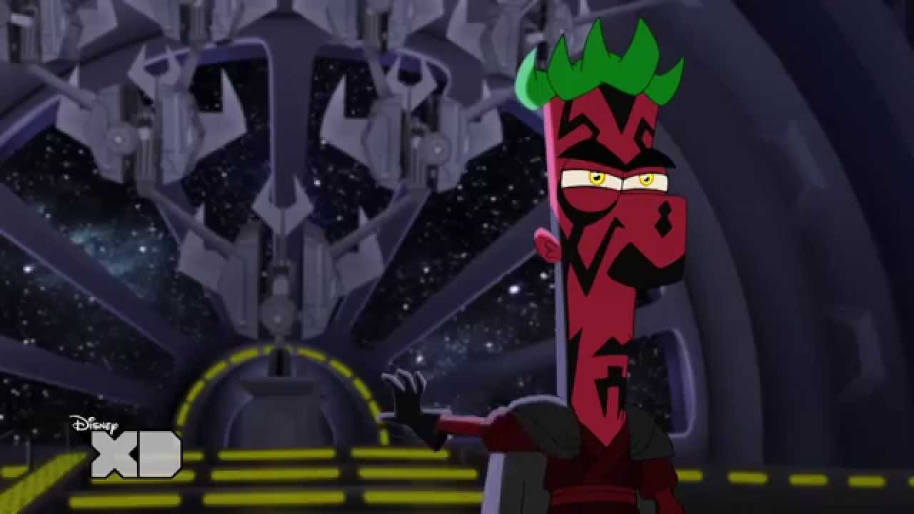 Official Phineas And Ferb Star Wars Lightsaber Fight