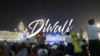 INCREDIBLE DIWALI 2016 - GOLDEN TEMPLE AMRITSAR (दिवाली) - INDIA TRAVEL VLOG #50