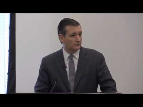 Sen. Ted Cruz at the Defeat Jihad Summit