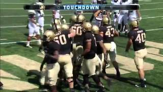 Highlights  Army West Point Football vs  Wake Forest 9 19 15