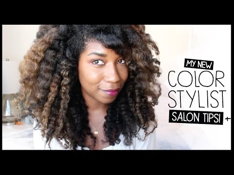 Salon Preparation Tips, My Balayage Color + Stylist | Natural Hair