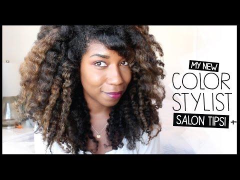 Salon Preparation Tips, My Balayage Color + Stylist | Natural Hair