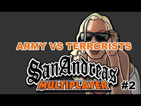 Субботний GTA SAMP на Army vs Terrorists #2 (Иван и Даниил)