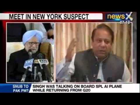 NewsX : Uncertainty surrounds Manmohan Singh - Nawaz Sharif meet
