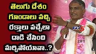 Minister Harish Rao Fires On Kodandaram And Mahakutami