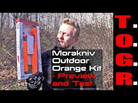 So Sharp! - Morakniv Outdoor Orange Kit - Preview and Test