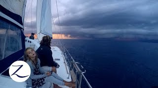 The Perfect Storm - Bad Weather Sailing / Daily Life on a Catamaran (Zatara Ep 61)
