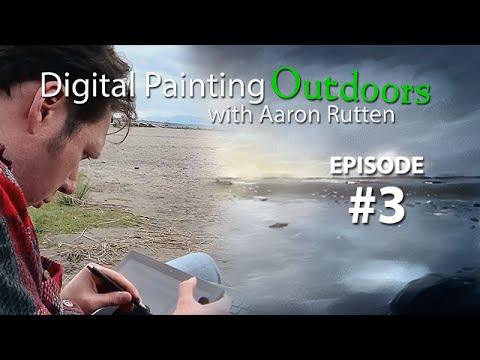 Beach Hike - Digital Painting Outdoors [Episode #3]