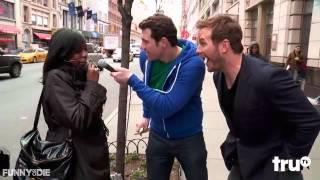 Funny Or Die   Billy On The Street  Chris Pratt Lightning Round!